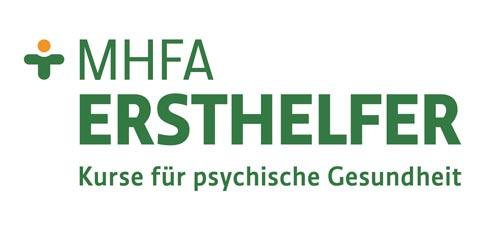 Logo des MHFA Ersthelfer - Kurse für psychische Gesundheit